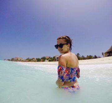 Zanzibar - výrazné odlivy