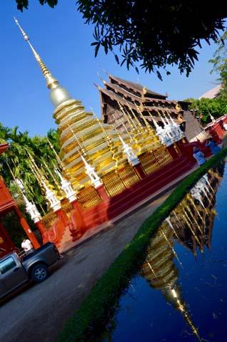 Duchovná atmosféra v Chiang Mai