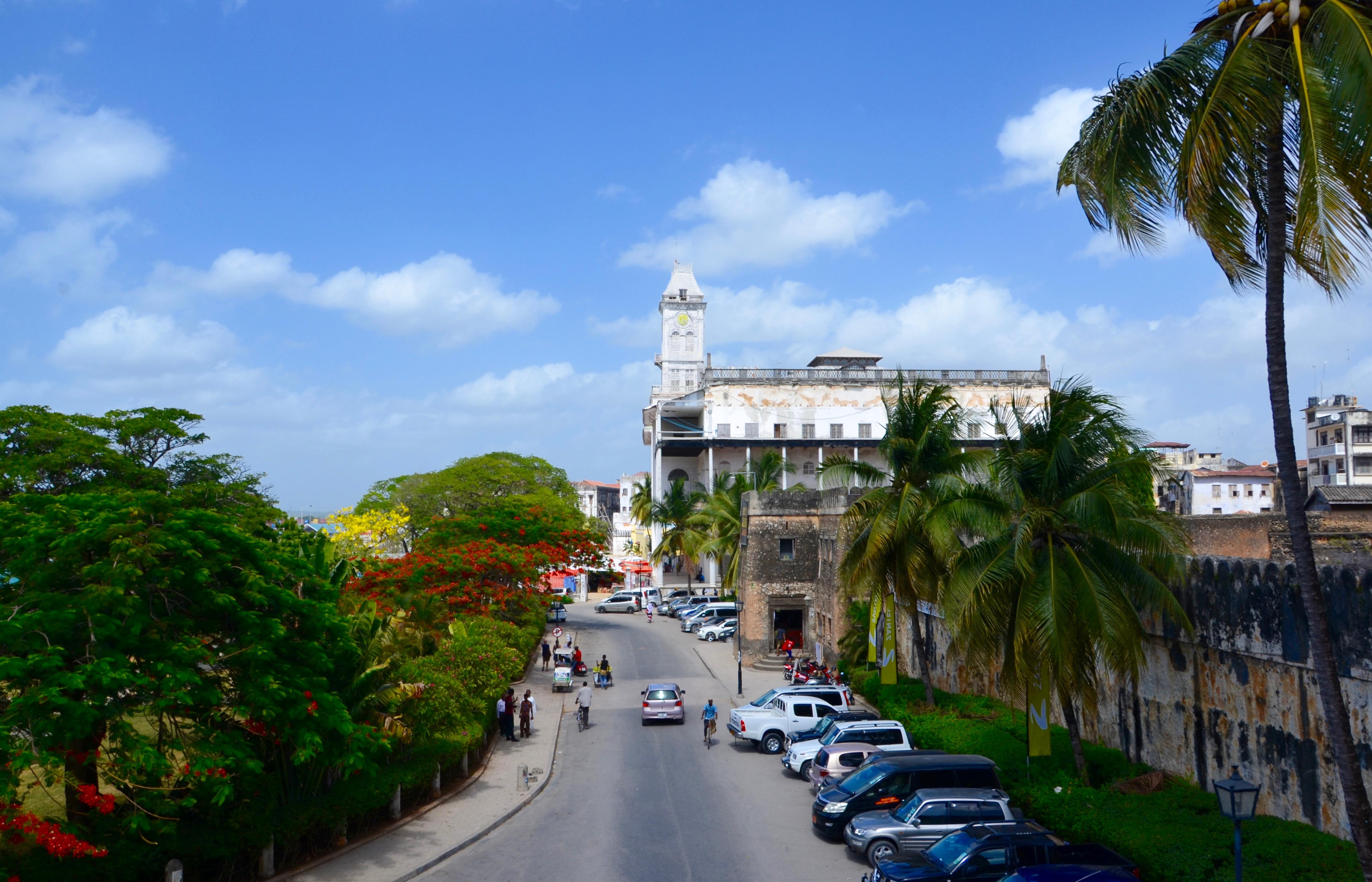 Zanzibar - hlavné mesto Stone Town