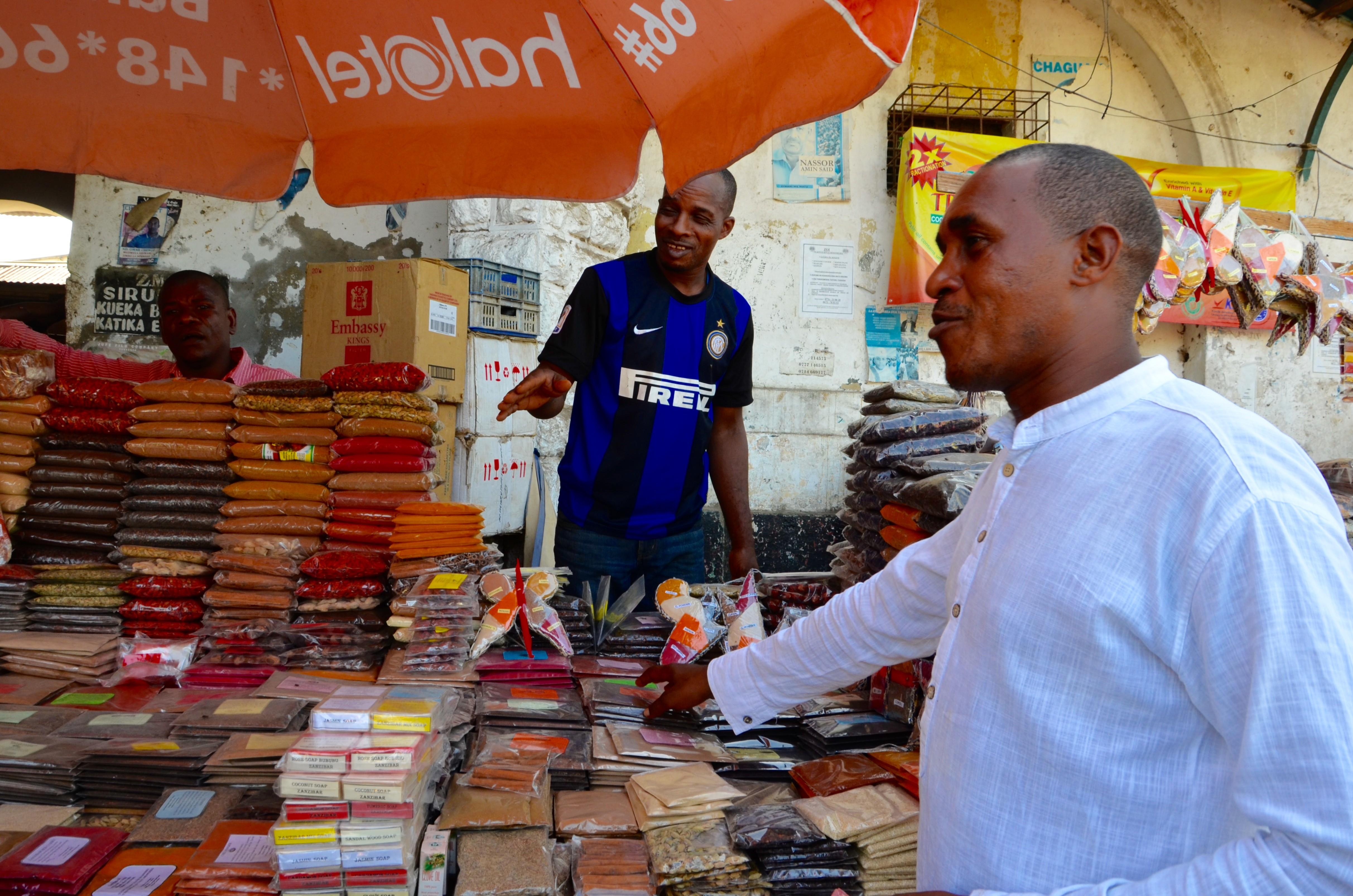 Zanzibar - zjednávanie ceny