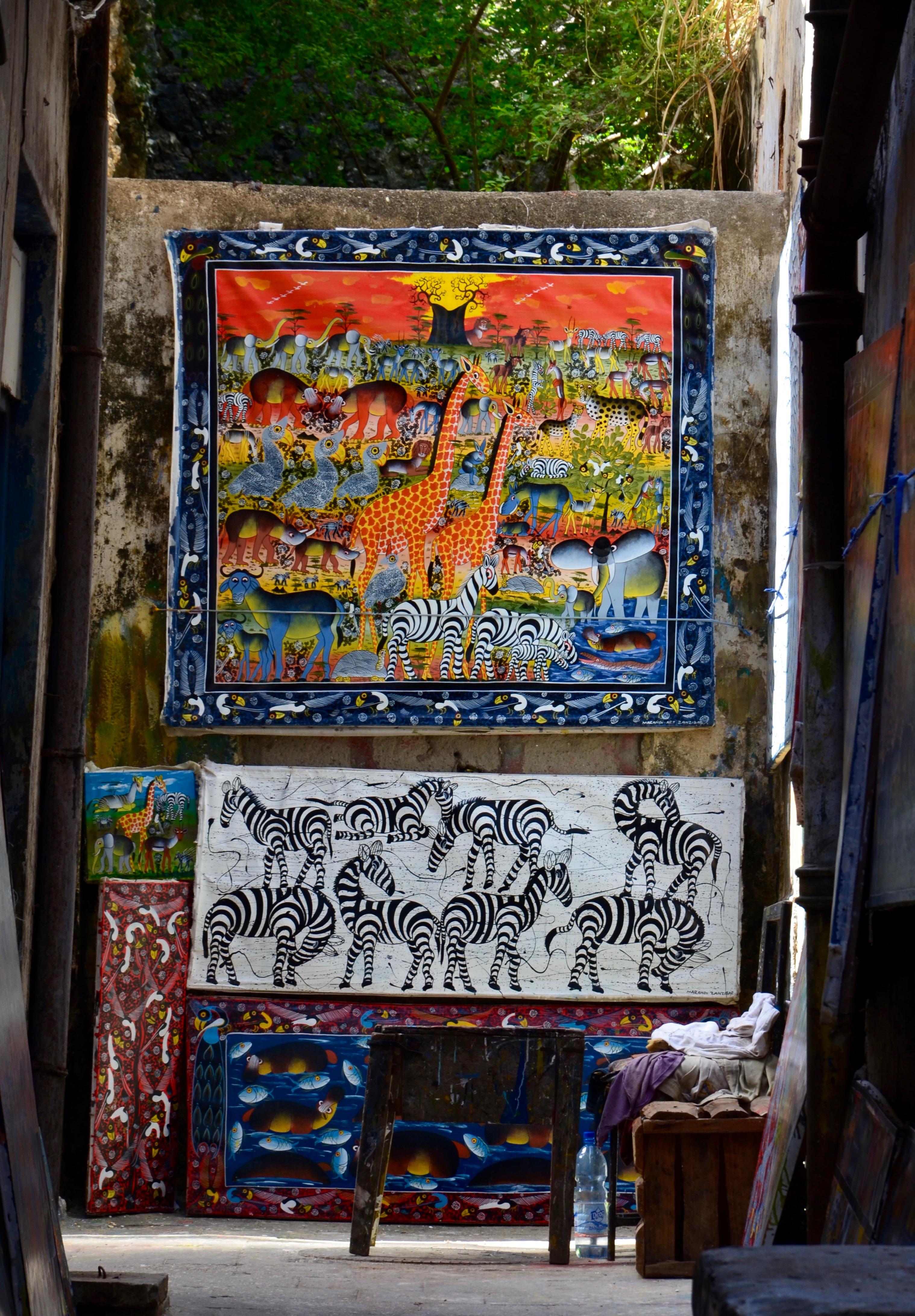 Zanzibar - miestna výroba
