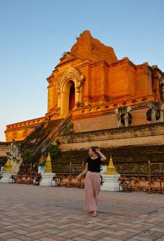 Chiang Mai - historické centrum Thajska