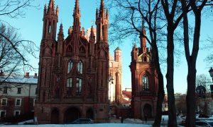 Vilnius: zaujímavé kostoly v centre