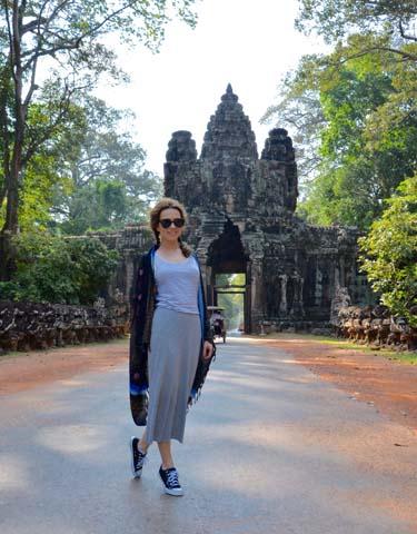 Pamiatky komplexu Angkor sú od roku 1992 zapísané aj v Zozname svetového dedičstva UNESCO.