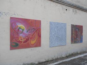 Užupis je čast Vilniusu, kde sa zhromažďujú umelci