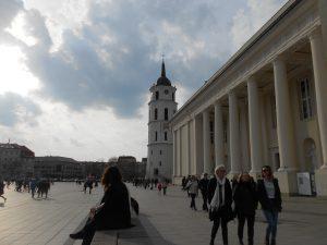 Litva: námestie Katedros aikšté