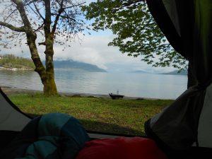 Nórsko: Niekoľkokrát nám ľudia ponúkli nocľah a z 8 nocí sme stanovali iba 2, pretože sme mali couchsurfing.