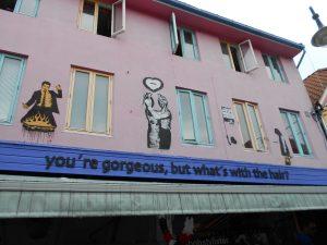 Nórsko: Stavanger je plné street art.