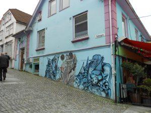 Nórsko: Stavanger, ktoré je plné street art.