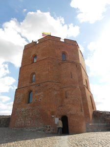 Litva: veža Gediminas