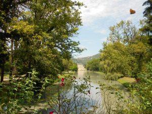 park s rezerváciou jeleňov