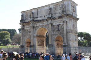 Pamiatky, zdobiace Rím.