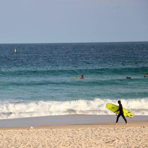 Surfovanie na Bondi beach