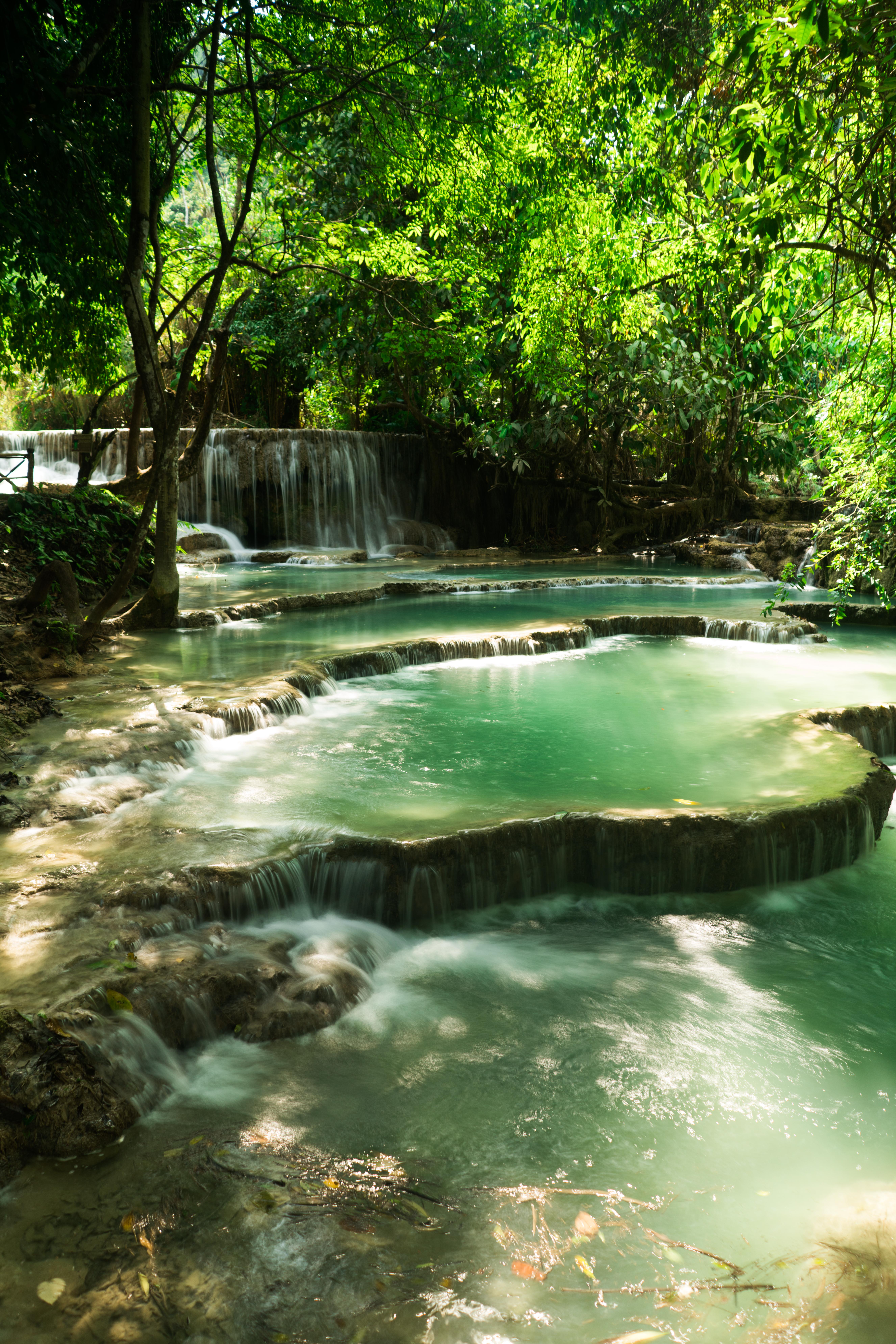 Laos - Vodopád Quang Si