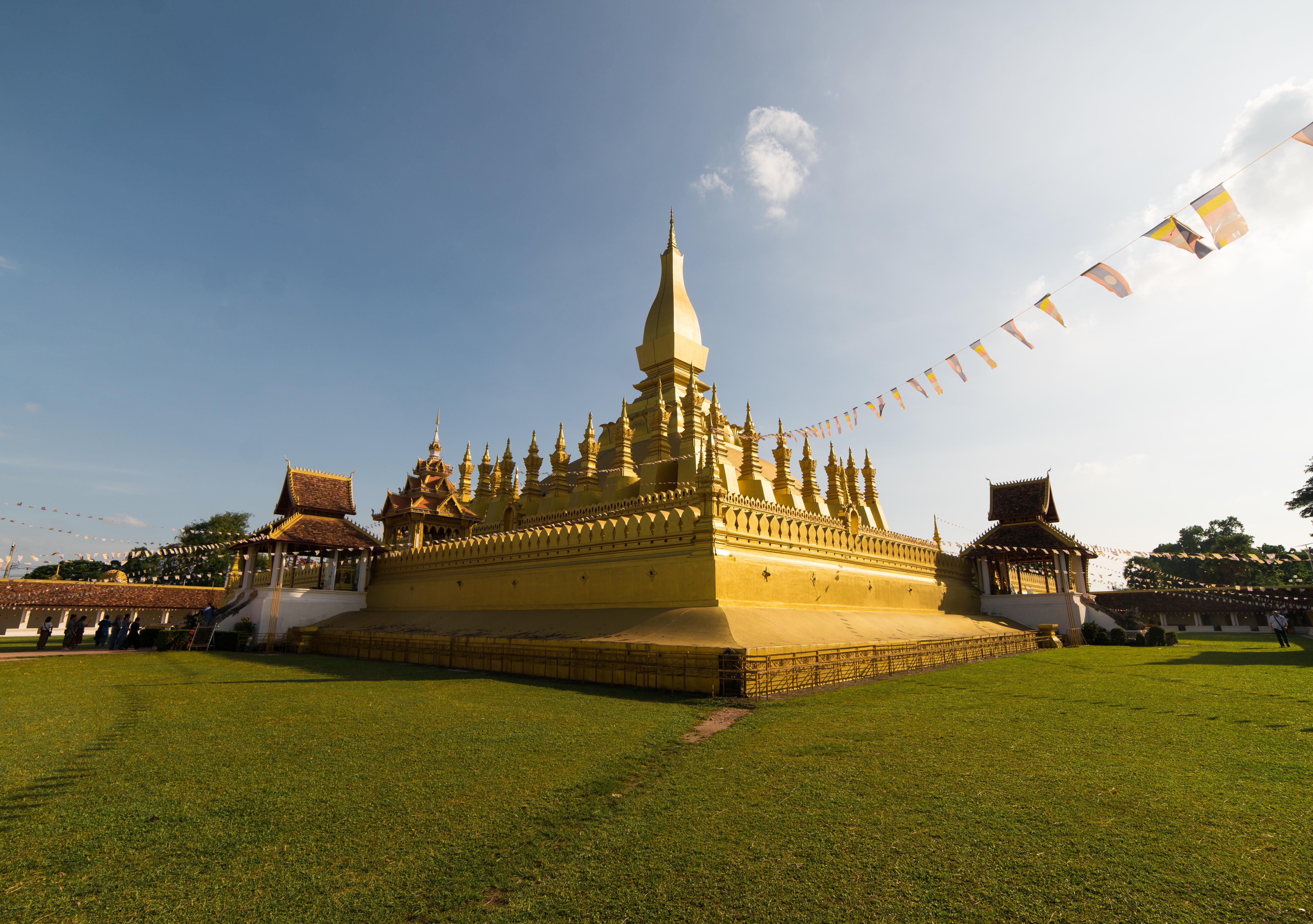 Chrám Pha That LuangIt