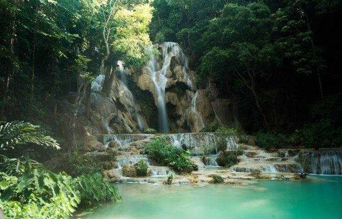 Vodopád Quang Si