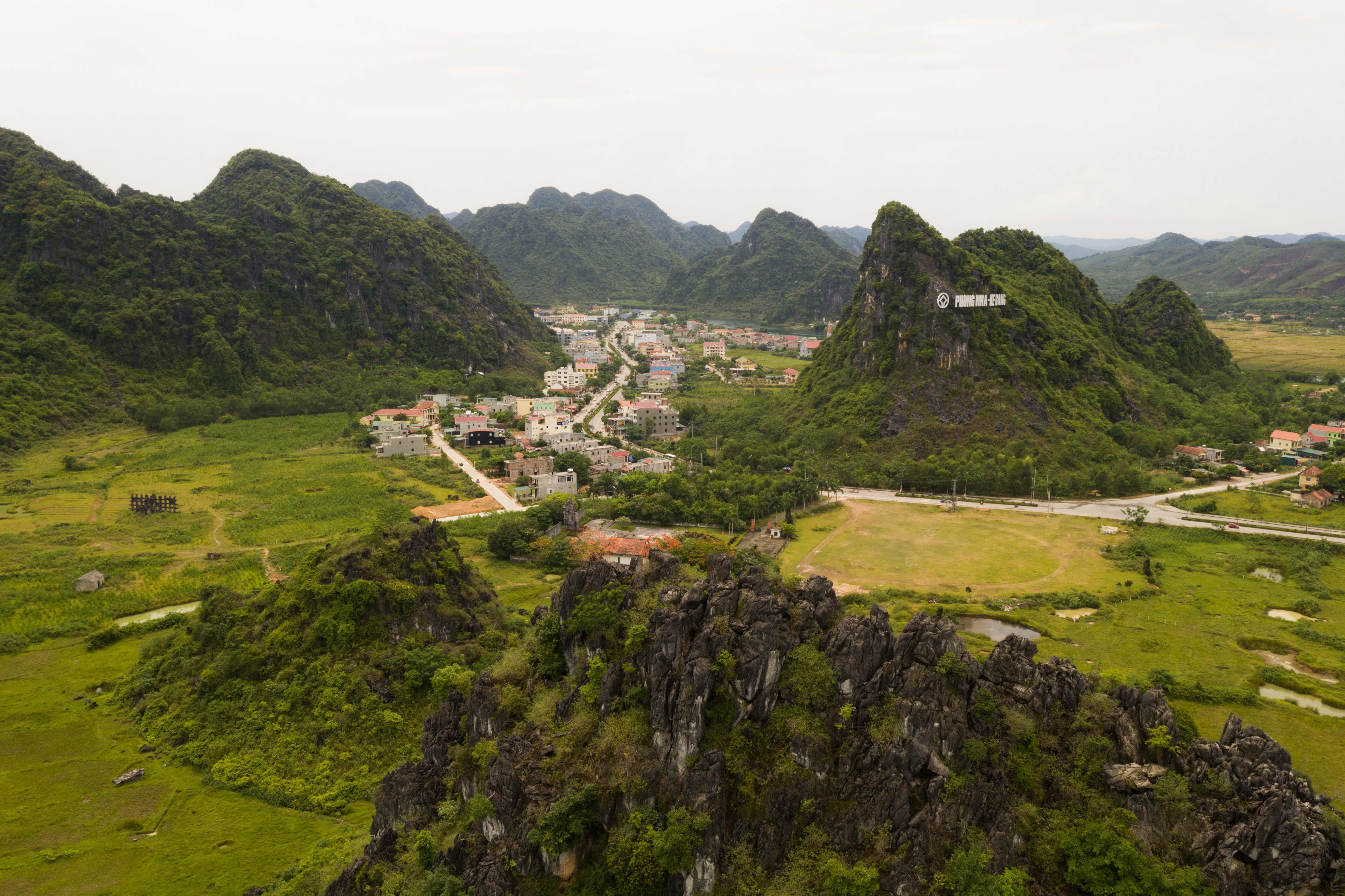 Dedinka v Phong Nha