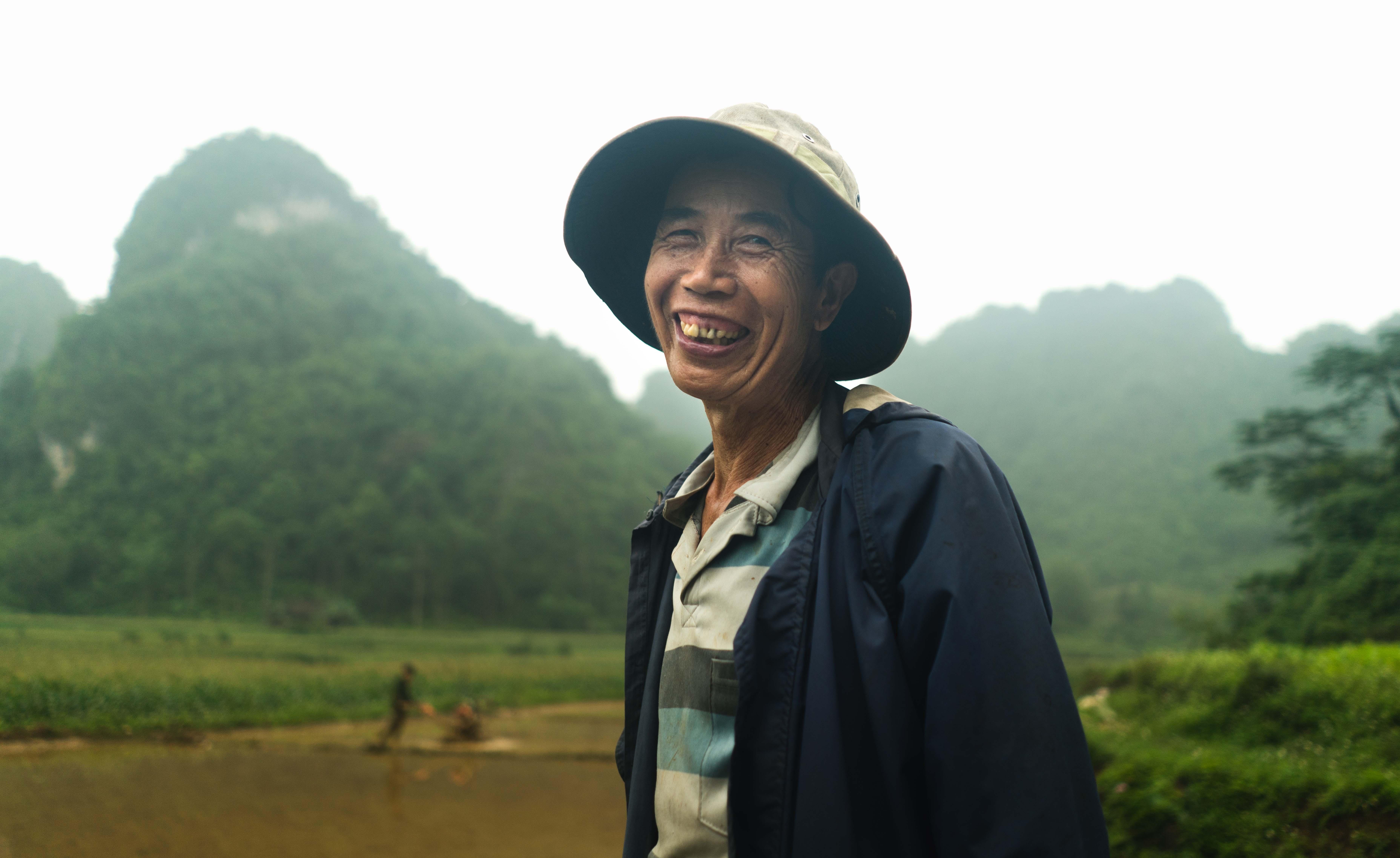 Ľudia na severe Vietnamu