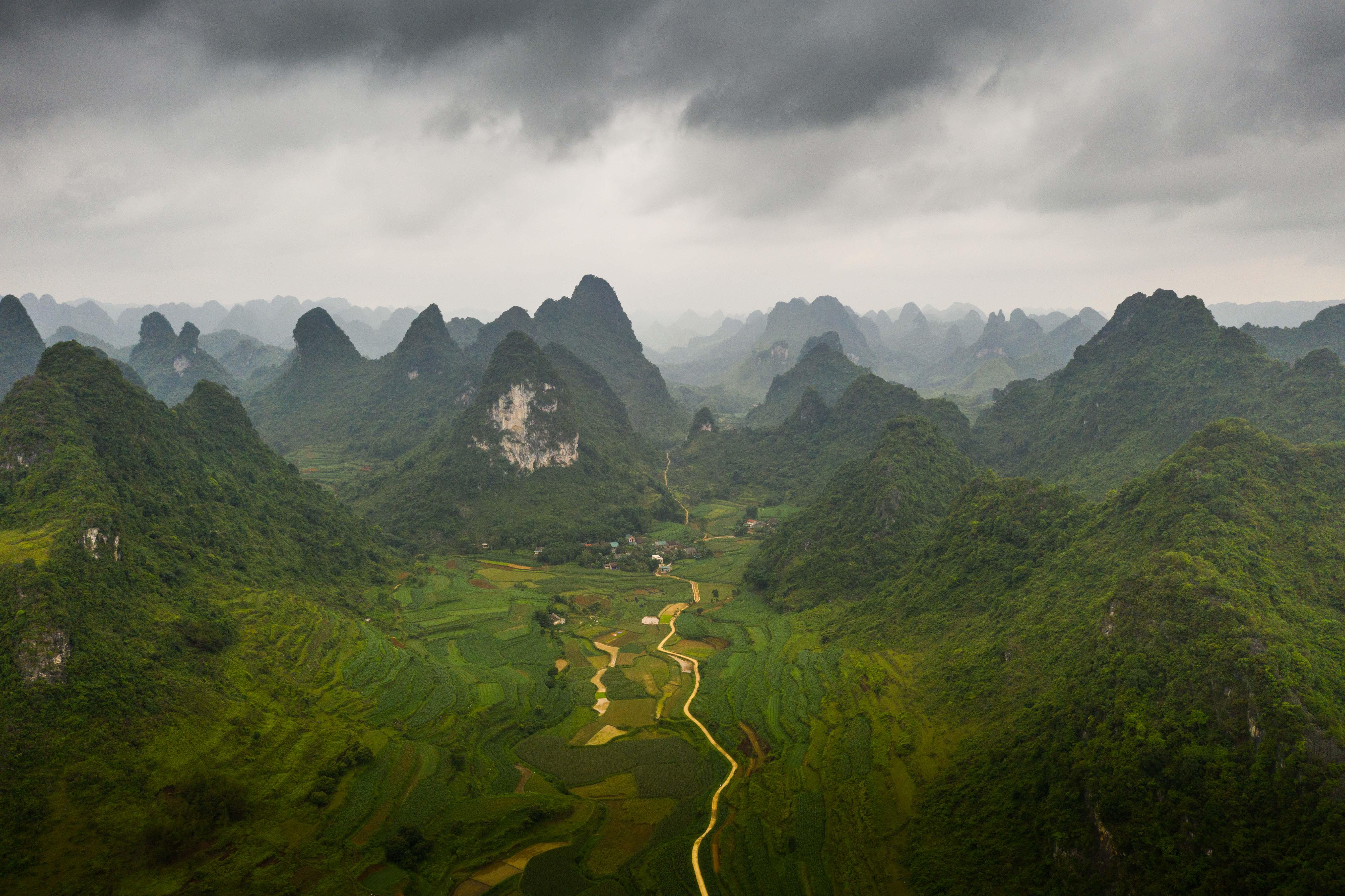 Severný Vietnam - príroda
