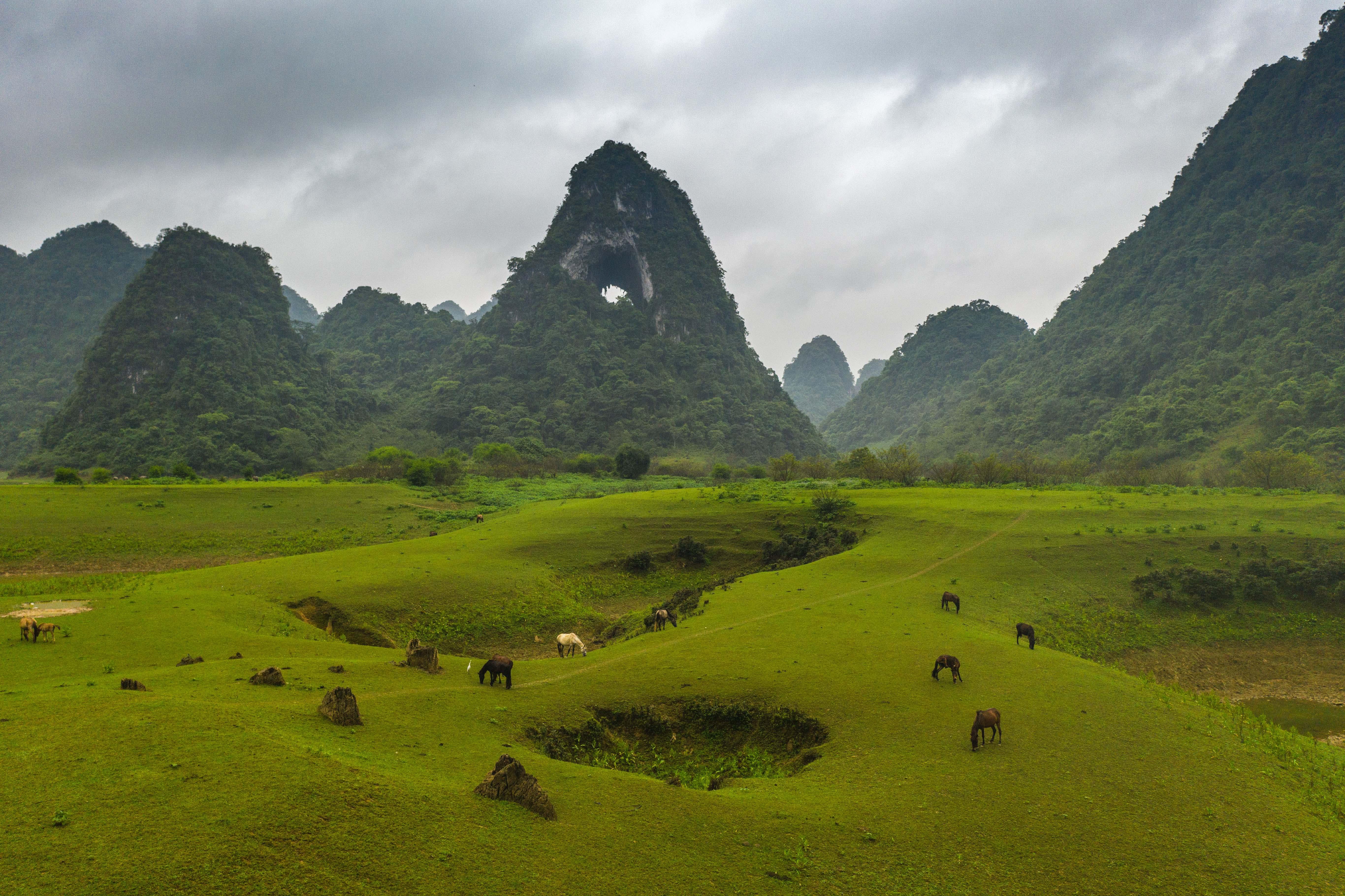 Úchvatná príroda severného Vietnamu