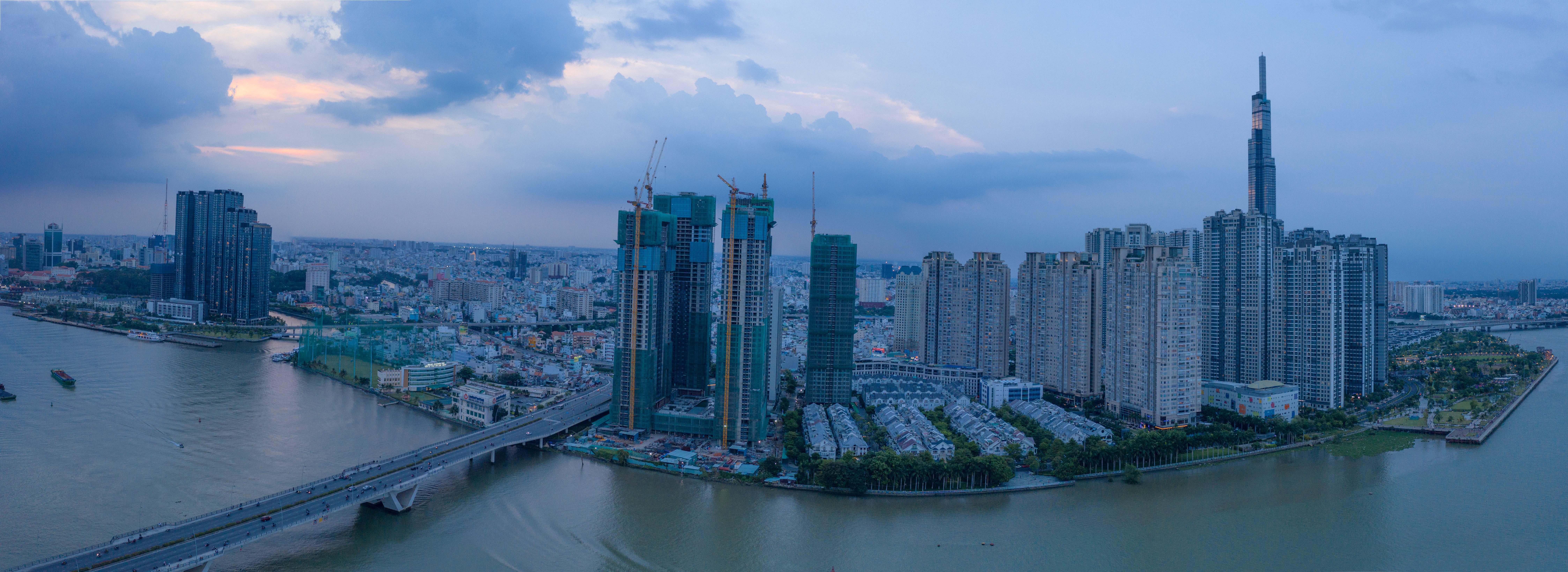 Najnovšia štvrť Vietnamu