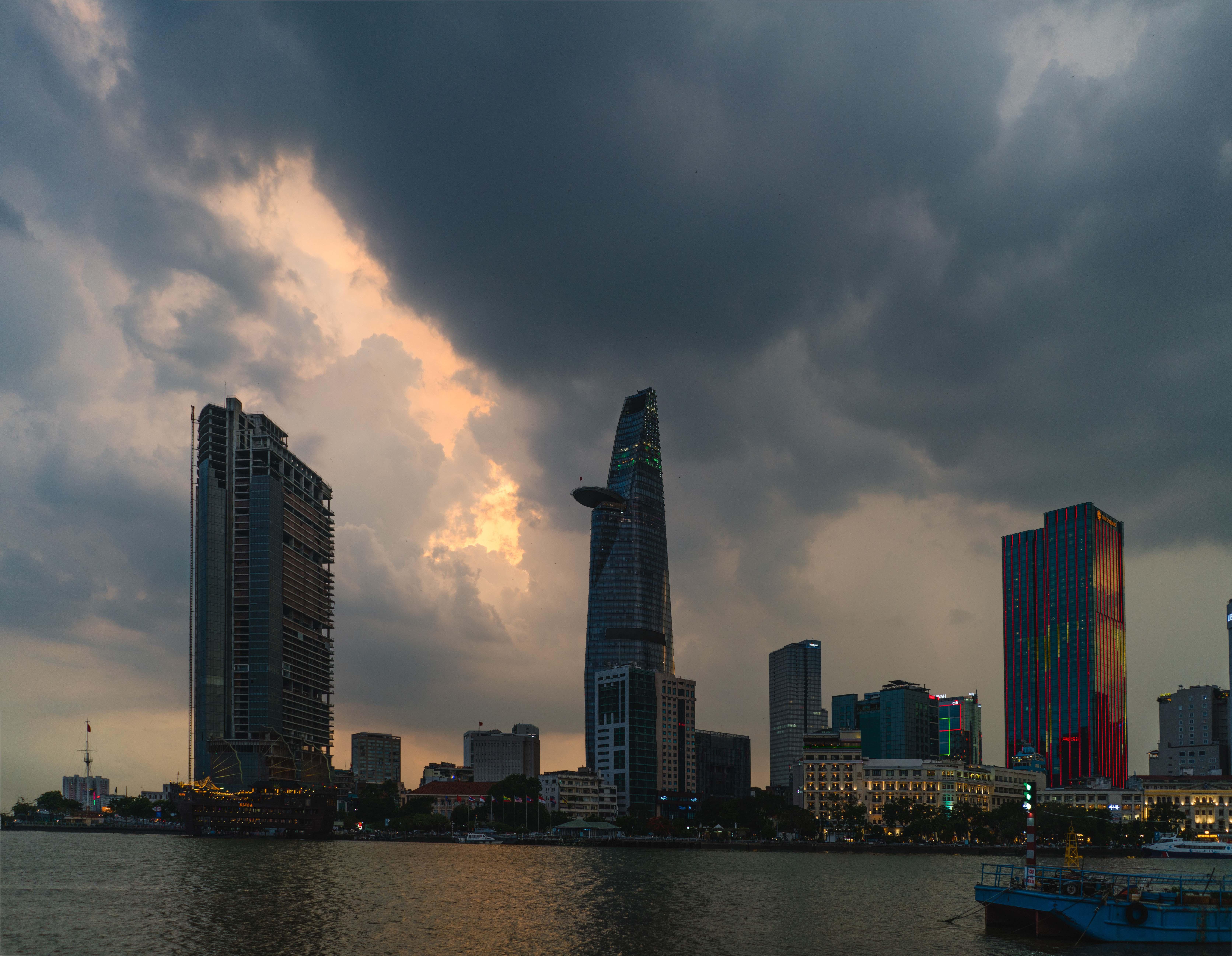 Saigon - najväčšie vietnamské mesto