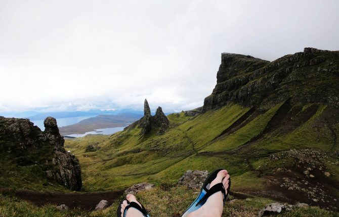 Britské ostrovy: The old man of Storr