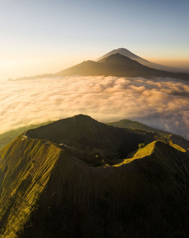 Bali - Sopka Mt Batur