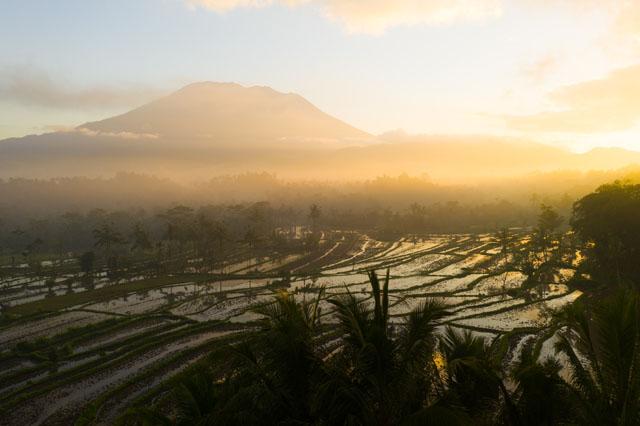 Mount Agun - najvyššia hora na Bali