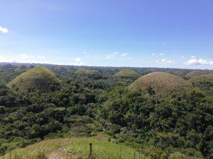 Filipíny a čokoládové hory