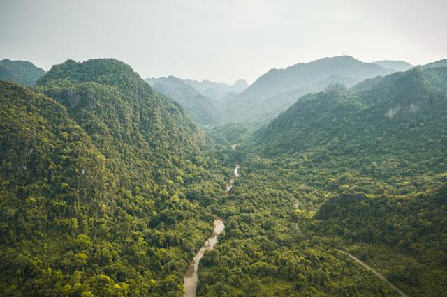 Nádherná príroda na severe Thajska