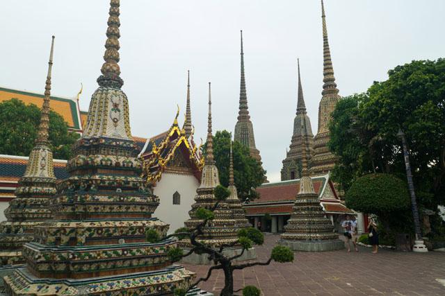Chrám Wat Pho v Bangkoku