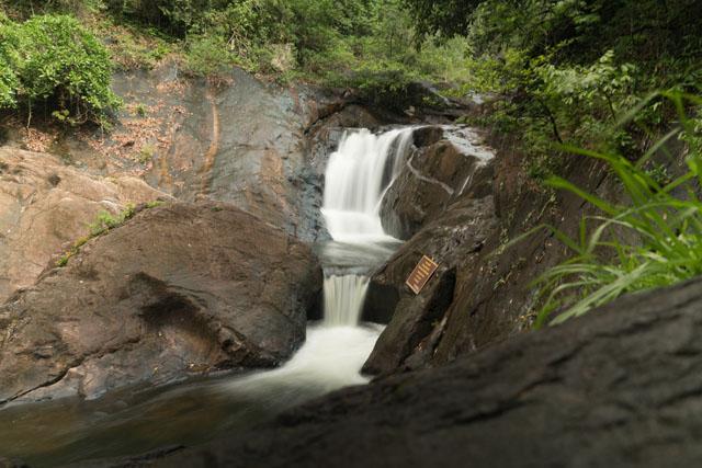 Vodopád Thanmayom na ostrove Ko Chang