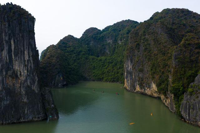 Thajsko - Kajakovanie v národnom parku