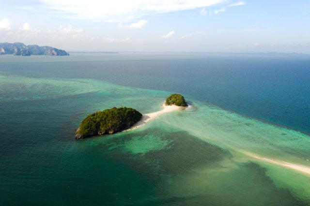 Thajsko - Ostrovy Koh Tup