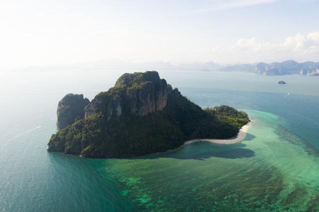Thajsko vhodné na šnorchľovanie