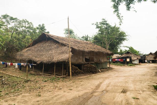 Dedinka na severe Thajska