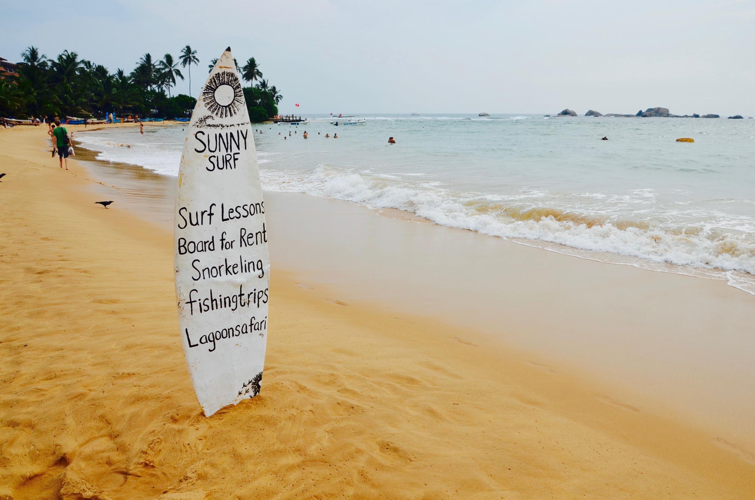 Srí Lanka - príchod a očakávania od pláže