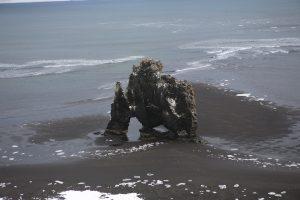 Island: prírodný úkaz nazývaný aj troll, alebo drak.