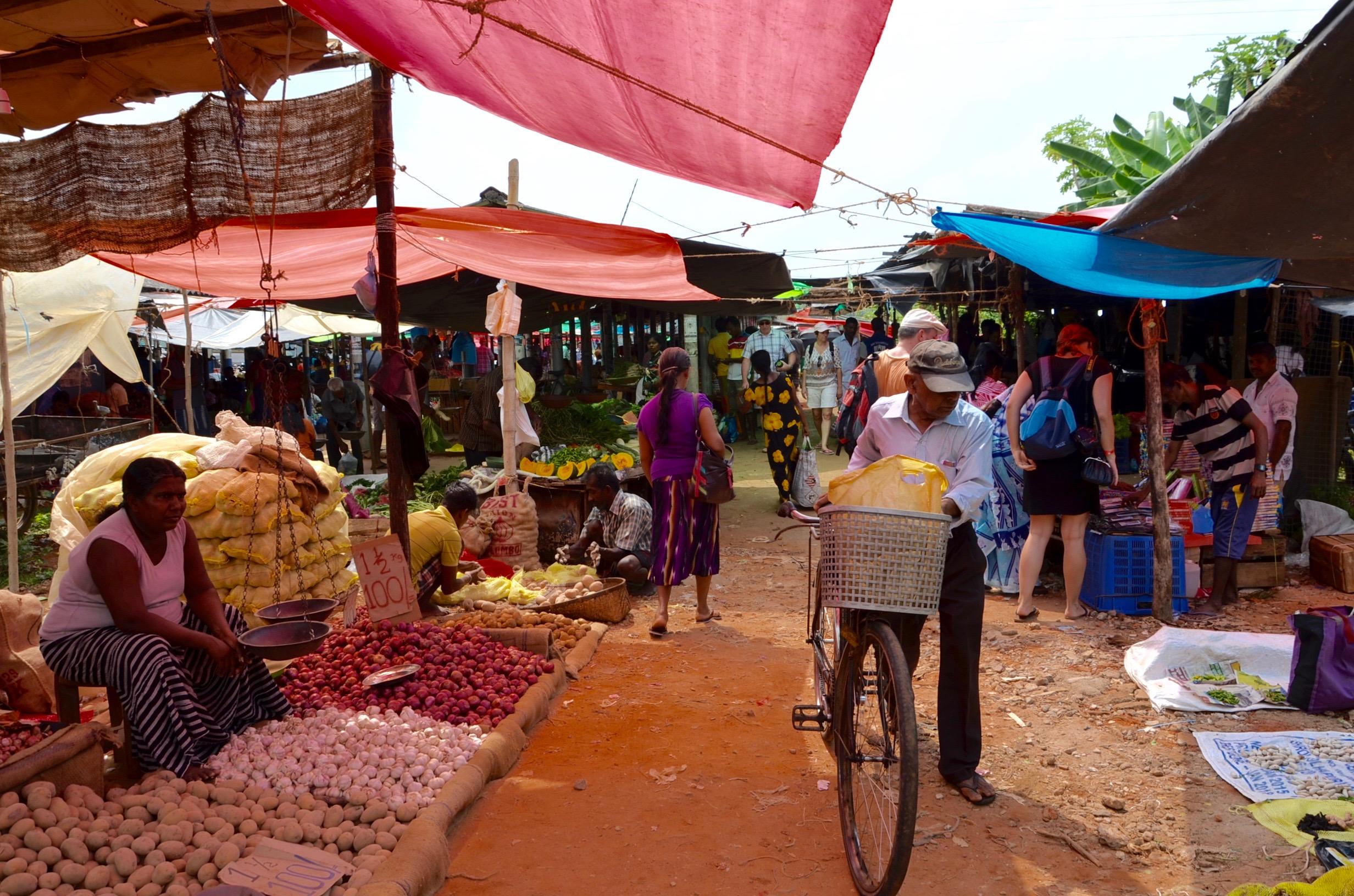 Srí Lanka - tržnica