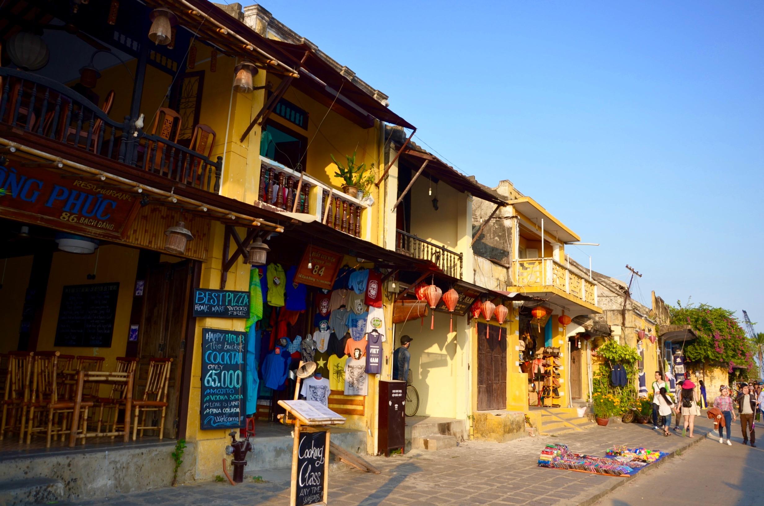 dedinky v okolí Hoi An