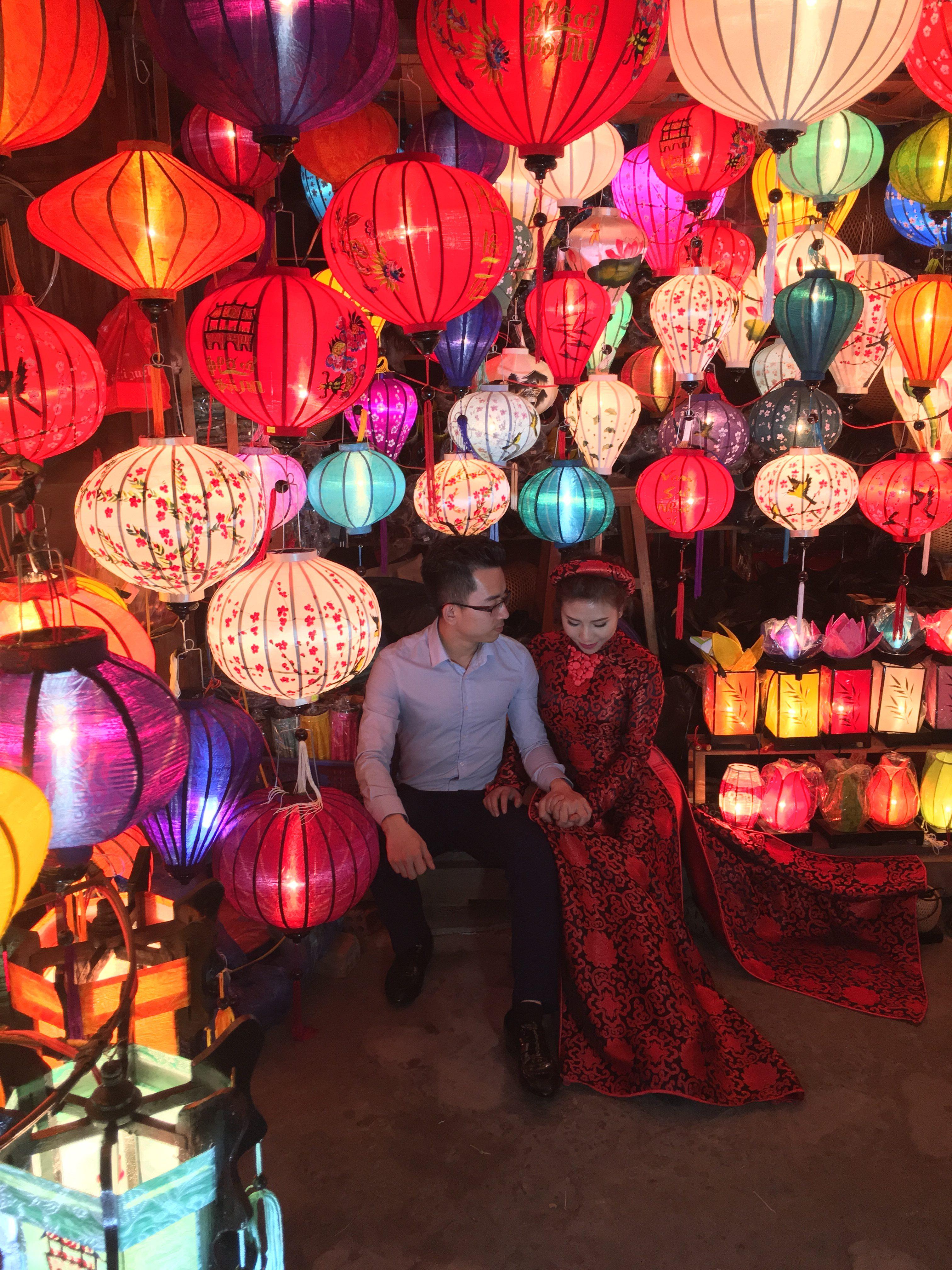 Vietnam: lampiónový festival