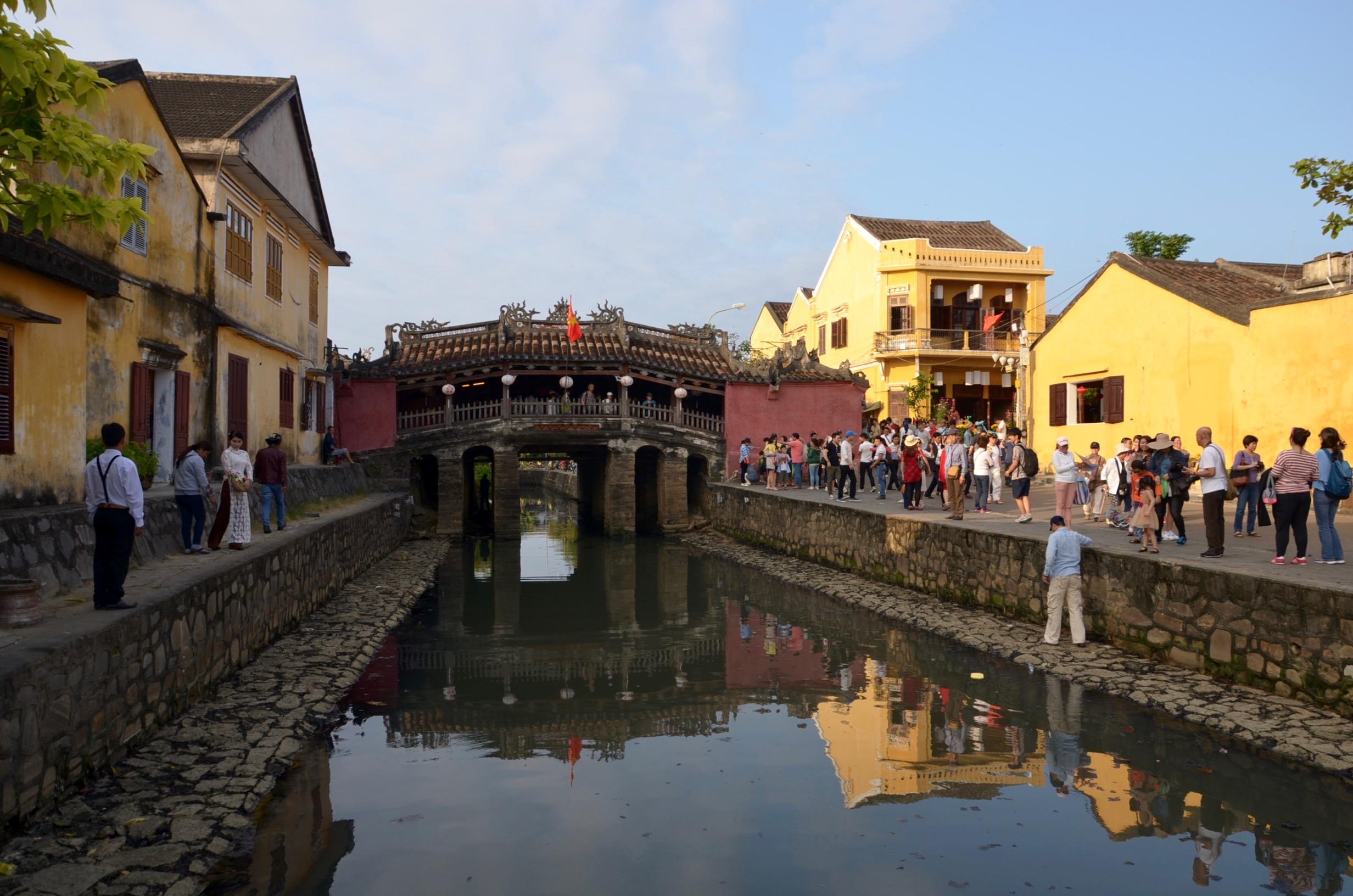 Hoi An: Japonský krytý most z prelomu 16. a 17. storočia