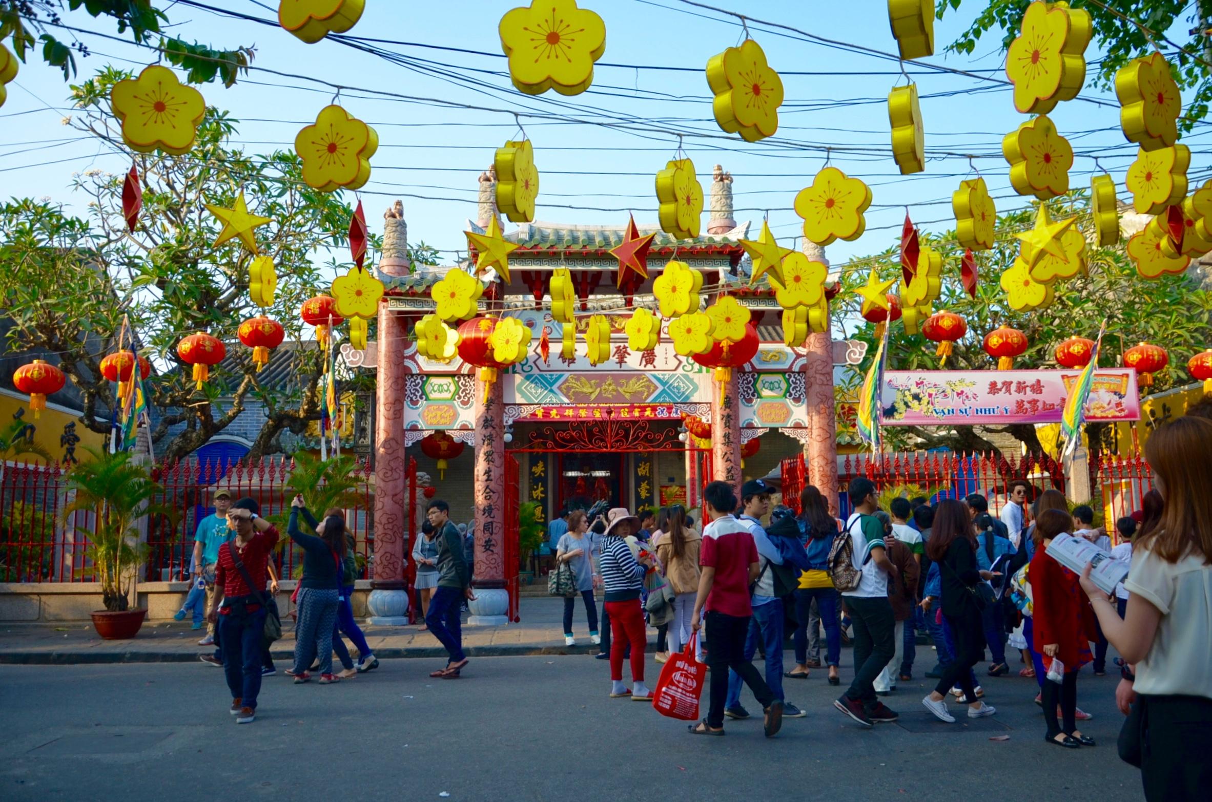 Hoi An:  Lampiónový festival v 30-tisícovom meste