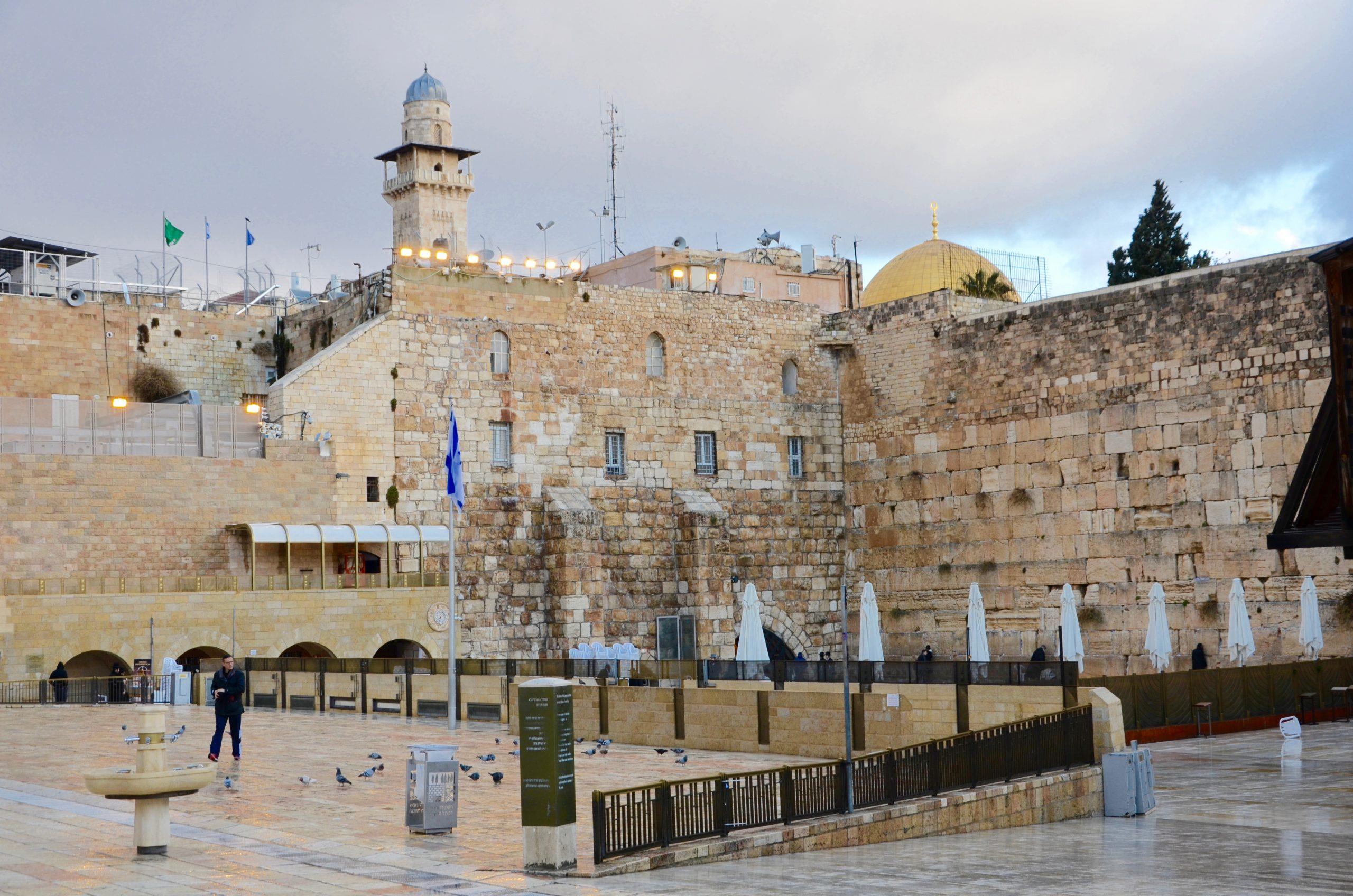 Múr nárekov - Jeruzalem