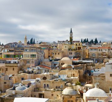 Výhľad na Jeruzalem