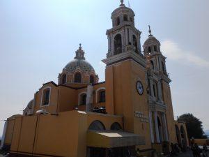 Mexiko: katolícky kostol Iglesia de Nuestra Señora de los Remedios