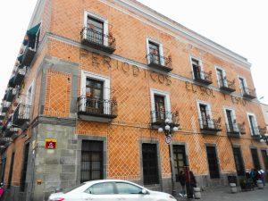 uličky v meste Puebla