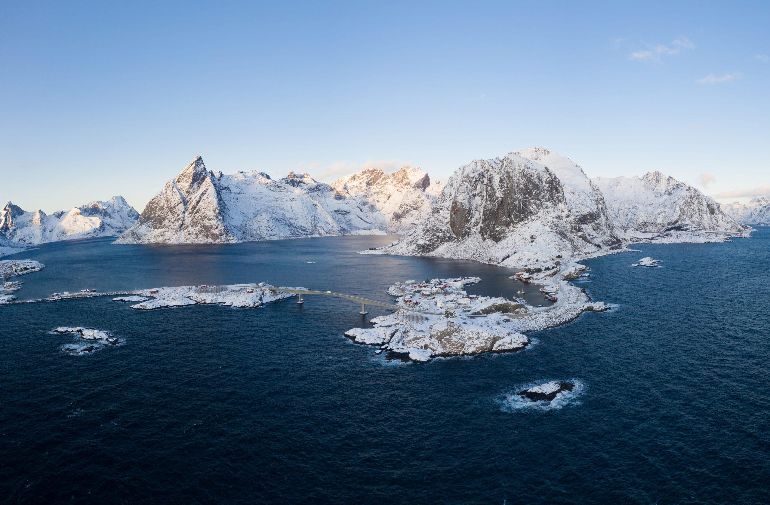 Príroda súostrovia Lofoty a oblasti Reine