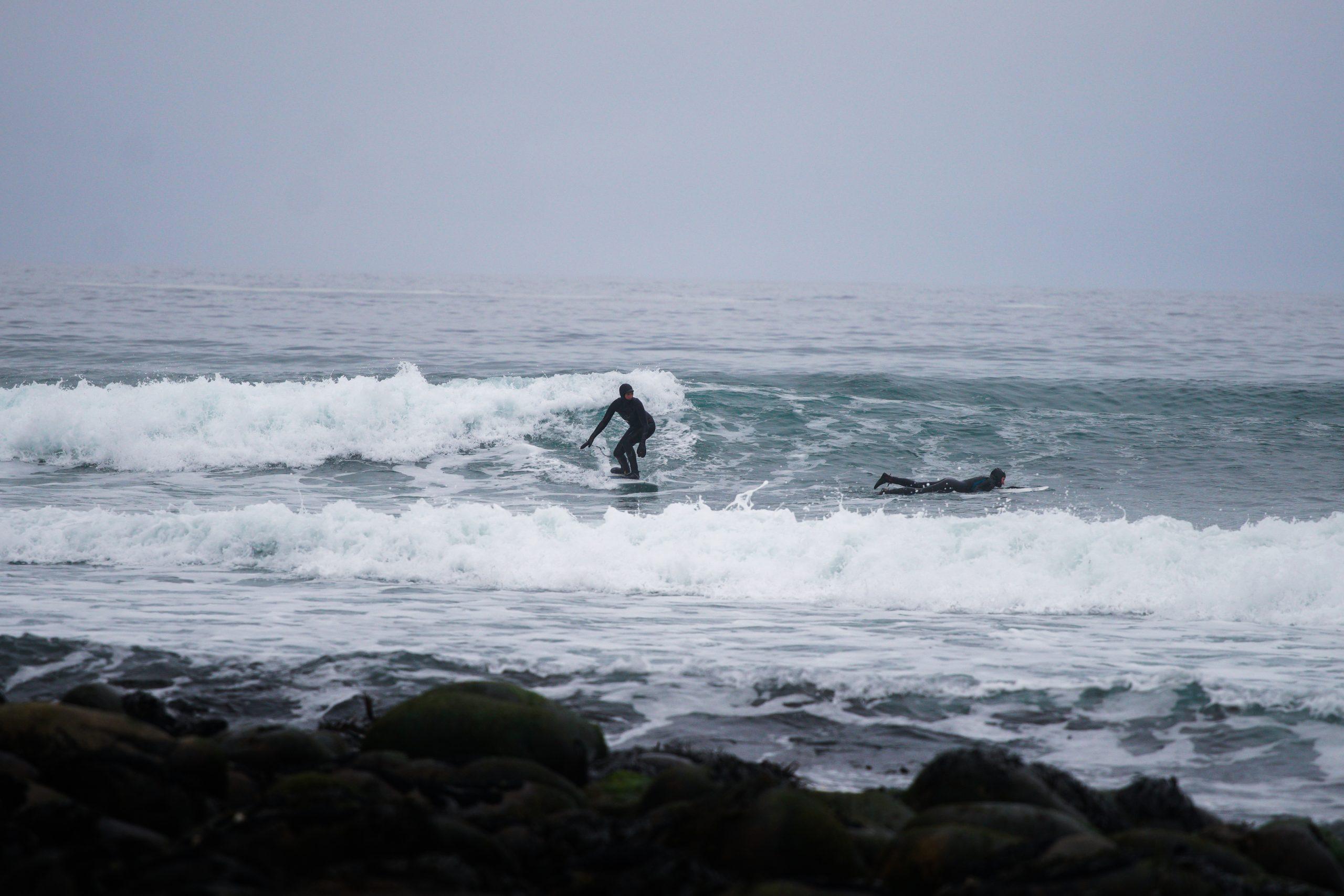 Lofoty: surfovanie na vlnách